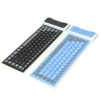 Wholesale Universal Foldable Silicone Wireless Bluetooth Keyboard For Tablet CAS_450