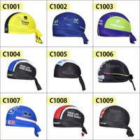 Wholesale 2015 Saxo bank tinkoff Bike Cycling cap protector solar bufanda negro bicicleta de la venda de sudor montar sombrero de los deportes