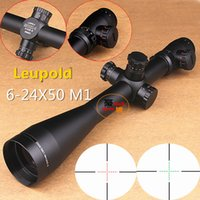 101 6-24x50 - Leupold Mark4 x50 R G Illuminated Optical Rifle Scope Sight Scope