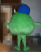 advertising universities - advertising mascot Monsters University Mike Wazowski Mascot costume High quality mascot customized carnival mascot costumes
