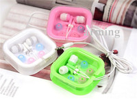 audio candies - 2015 Newest Universal mm candy color earphone cheap In Ear Earbuds Earphone for iPhone Galaxy Headphones MP3 MP4 Microphone mm Audio