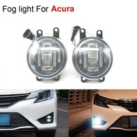 acura tsx new - 2pcs set New Lamp Car Styling Light Source Lighting Fog Lights for Acura RDX TSX TL ILX Super Bright