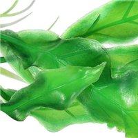Wholesale 2015 New Green Artificial Plastic Grass Fish Tank Ornament Water Plant Aquarium Decor Christmas Gift