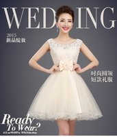 Wholesale The new summer bridesmaid dresses Short graduation dress Bridesmaids dresses and sisters dresses Party dress