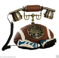 antique style telephone - American Style Creative Fashion Football Corded Antique Telephone