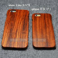 Walnut, Cherry, Rosewood,Bamboo wood - Handmade iPhone Wood Case w o Engrave For Apple S S S Per Set Dropship Order Is Available