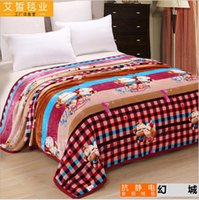 america blanket - 100PS TOPB3984 color blankets America flag mickey blankets Grid stripe floral flower blankets Bohemia flannel blankets bed sheet
