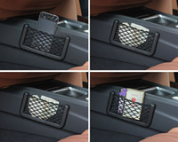 Wholesale New Universal Car Seat Side Back Net Storage Bag Phone Holder Pocket Organizer car organizer organizador coche car seat organizer