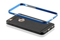 Cheap 2 IN 1 Design Aluminum Metal Frame & Silicon Back Cover For iPhone6 iPhone 6 Plus 5.5 Brand Case