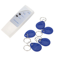 rfid handheld reader - Handheld Khz RFID ID Card Reader Copier Writer Duplicator Writable Cards Key Fob S343