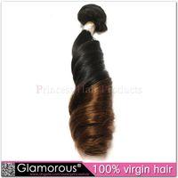 two tone hair extensions - Grade A Peruvian Malaysian Brazilian Indian Funmi Wave Human Hair Bundle Two Tone Ombre Color Hair Extensions Chrap Ombre Funmi Wave hair