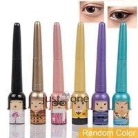 Cheap Hot Lucky Dool Eye Makeup Cosmetic Tools Waterproof Black Liquid Eyeliner Pen