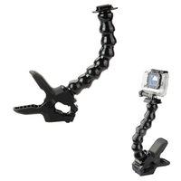 Wholesale GoPro Jaws Flex Flexible Clamp Mount Adjustable Neck for Sport GoPro Camera Hero Hero3 Hero4 Gopro Accesories