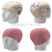 Wholesale Men Women Polyester Flexible Patterned Water Sport Pool Swimming Bathing Caps Hat Various Color