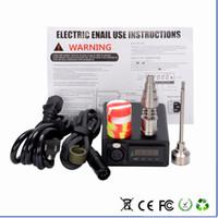 Wholesale G9 Mini Enail dab e nail dab ceramic e nail V V for wax or oil vaporizer E nail e nail
