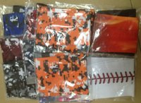 Wholesale HOT Baseball football Blue orange pink black white and so on a variety of colors Stitching Wicking Compression Sports Arm Sleeve