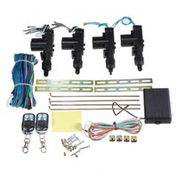 Wholesale Audew Universal Car Auto V Remote Conversion Keyless Central Door Locking Entry Kit order lt no track
