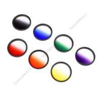 Wholesale New Arrival mm Rotating Grad Graduated Color Lens Filter for Canon EOS D D D Nikon DSLR SLR Camera