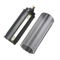 battery tube case - Hot Sale in white casing battery sheath tube Plastic Battery Holder Case Box AAA for Flashlight Torch Lamp