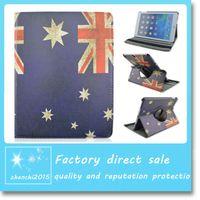 australian cover - Australian Flag Case Degree Rotate Multi Stand PU Leather Cover Case For ipad Air ipad ipad mini123