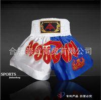 Wholesale Genuine Kau Lung Warriors Boxing Muay Thai shorts Sanda training game shorts shorts pants suits performing