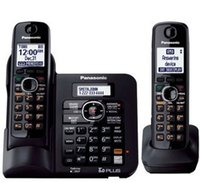 Wholesale KX TG B DECT Expandable Digital Cordless Phone Handsets Answering System with a Dual Keypad Wireless Home Telephone