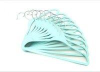 baby closet design - 2015 New Design baby hangers PP Plastic hangers for kids children clothes SH007
