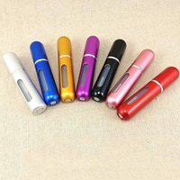 Wholesale 2015 factory price ML aluminum spray bottles perfume atomizer Cosmetic Containers