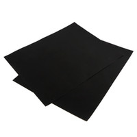 Wholesale 2pcs set BBQ grill mat for barbecue grill sheet cooking and baking and microwave oven use black promotion