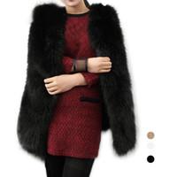 Wholesale S5Q Women s Fashion Shaggy Sleeveless Vest Outerwear Outerwear Jacket Waistcoats AAAFIS