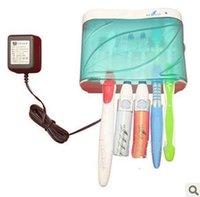 Wholesale New UV Toothbrush Sanitizer Sterilizer Holder Cleaner Bathroom Box