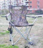 Wholesale Outdoor folding chair folding chair armchair oversized chair seat chair camouflage end mobile armchairs