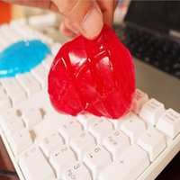 Wholesale Practical Cyber Super Clean Magic Dust Cleaning Compound Slimy Gel Wiper For Keyboard Laptop TY1097