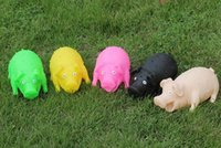 Wholesale pressure relief ve Outdoor toy pig nt toys hem pig a variof colors Q15062604