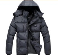 men winter parka - Hot Winter New White Duck Down Thick Warm old Mens Famous Brand Coats Jackets Parka Outdoor Detachable hood big size warm men coat