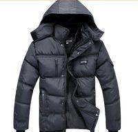 Wholesale Hot Winter New White Duck Down Thick Warm old Mens Famous Brand Coats Jackets Parka Outdoor Detachable hood big size warm men coat