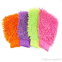 Wholesale Super Mitt Microfiber Car Window Washing Cleaning Cloth Duster Towel Gloves
