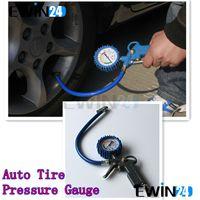 air compressor line - 220psi Car Van Truck Tyre Tire Air Line Inflator Dial Pressure Meter Gauge Compressor