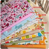 animal quilting fabric - 10PCS cm Cute Cartoon Animal cotton fabric fat quarter bundle for tilda sewing home textile DIY patchwork quilting fabric