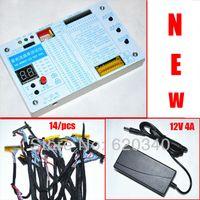 Livraison gratuite / Upgrade Tool testeur portable TV LCD / LED ESSAI panneau LCD support 7 -55 pouces LVDS + interface 14 / pc + ligne de test afin 12V4A $ 18Personne