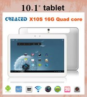 android tablet jelly bean - CREATED X10S inch tablet MTK8389 android tablet pc G WCDMA HDMI jelly bean GPS Bluetooth FM dual cameras dual sim card slots PH004