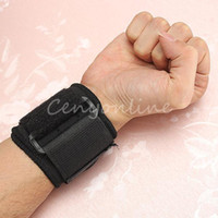 Cheap Free Shipping Black Health Care Weight Lifting Wrist Straps Support Gym wrister Sports Exercise Comfortable