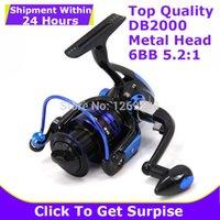 Wholesale Top Sale Fishing Reel B Metal Head Interchangeable Serie Rocker Arm Pre Loading Carretilha Pesca Multipurpose Fishing Reels