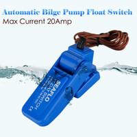 automatic float switch - DC V A Mini Blue Automatic Bilge Micro Water Pump Automatic Pressure Float Switch Pump Accessory Control