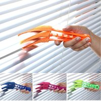 Wholesale Microfiber Duster Blinds Shutters Shades Louvers Cleaner Air Conditioner Vent Cleaning Brush Detachable Washable House Cleaning Tool