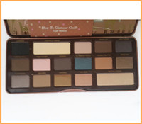 shadow boxes - New arrival Semi Sweet Chocolate Bar Eye Shadow Collection Palette color full size new box