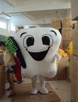 Wholesale BEST Brand new new tooth Mascot Cartoon Mascot Costume Fancy Dress Hot Sale