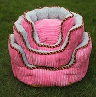Wholesale Handmade Layers Dog Beds T Comfortable Thick Warm Softest Dog Sofa Christmas Hot saLE New Desing Dog Accessories Princess Room