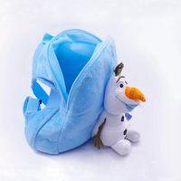 Wholesale FROZEN Olaf Style Children Double Shoulder School Bags Lovely Adjustable Backpacks