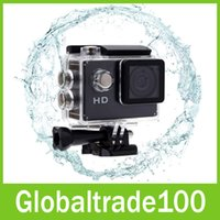 Wholesale Mini DV Action Cameras A7 HD P Camera Sport in LCD Degree Wide Angle Lens M Waterproof SJ4000 Free DHL